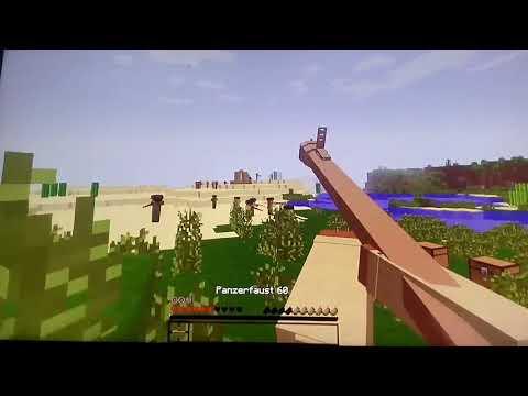 Minecraft WW2 #1 ała ja koksu XD
