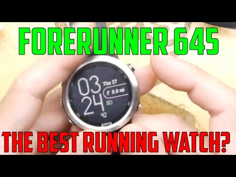 TDL- Garmin 645 Running Watch