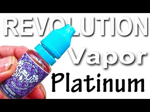 REVOLUTION VAPOR PLATINUM CLOUD DROPS e-juice
