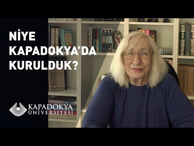 Niye Kapadokya'da Kurulduk | Alev Alatlı | Kapadokya Üniversitesi