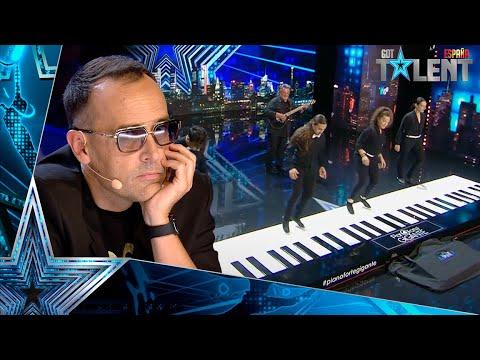 Estos ITALIANOS tocan en un PIANO GIGANTE el Bella Ciao | Audiciones 3 | Got Talent España 2021