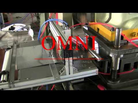 paketleme makinası alüminyum folyo tepsi tava kase kaplar kap yemek kapları makine