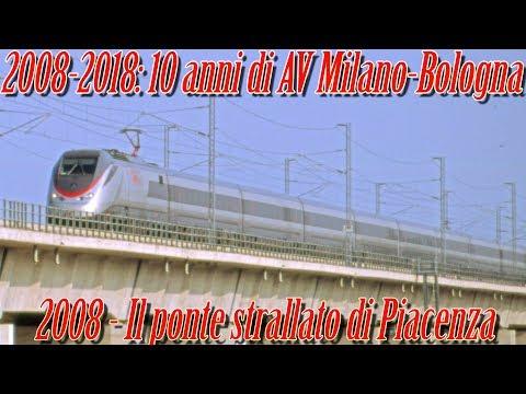2008-2018 10 anni di AV Milano-Bologna: Prima del Frecciarossa
