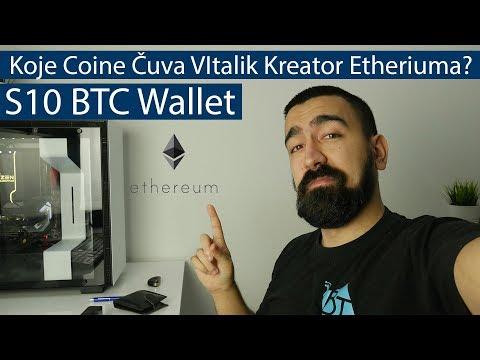 Koje Coine Čuva VItalik Kreator Etheriuma? S10 btc wallet? Cryptoportfolio