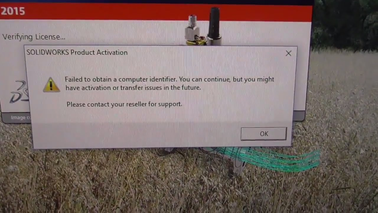 How to fix `Failed to obtain a computer identifier` SolidWorks Activation  error (disabled service) by furulevi