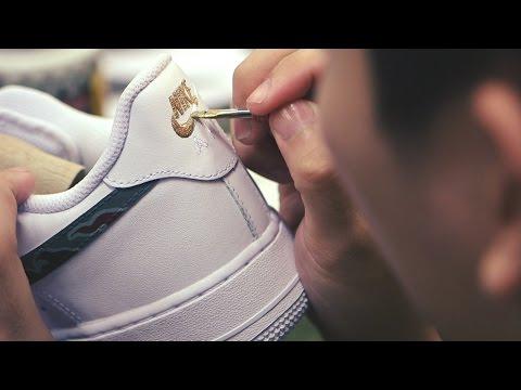 timeless design 338b2 fdac4 Process  SBTG for HYPEBEAST Nike Air Force 1   Huarache