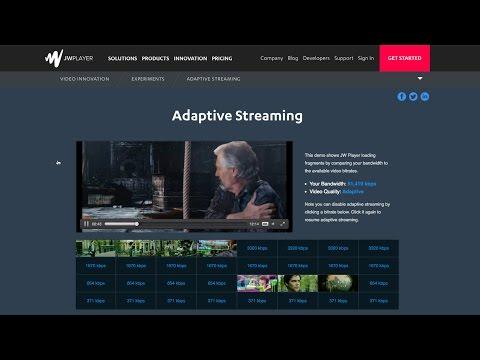 JW Player & Wowza Masterclass: Apple HLS Adaptive Bitrate Streaming