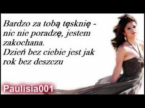 Selena Gomez - A Year Without Rain ( Tłumaczenie PL by Paulisia001)