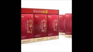 50ml x 60 Pouch Korean Red Ginseng Extract 6Years Cheong Kwan Jang Panax