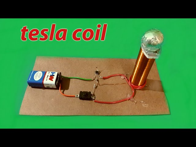 "Make a mini ""Tesla coil"" (Easy to make)"