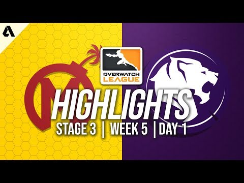 Florida Mayhem vs Los Angeles Gladiators | Overwatch League Highlights OWL Stage 3 Week 5 Day 1 thumbnail