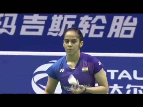 TOTAL BWF Thomas & Uber Cup Finals 2016 | Badminton SF-Uber Cup-CHN vs IND