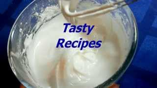 Рецепт айсинга (сахарной глазури)  Icing recipe 
