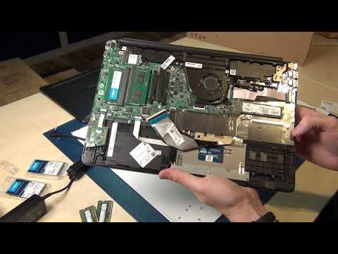 HP 15s 15s eq Series Laptop Disassembly Guide Tutorial Upgrade SSD, RAM, Boot USB