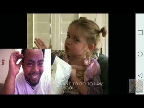 Savage little girl recaps her first day at school |REACTION|