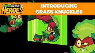 Plants vs. Zombies Heroes | Grass Knuckles Hero Gameplay