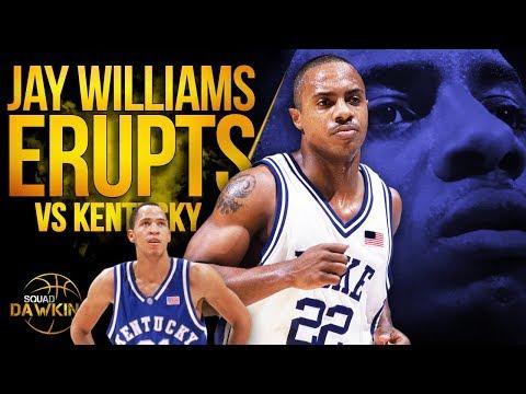 Jay Williams EPiC 38 Pts, 7 Threes vs Tayshaun Prince x Kentucky   Dec 18, 2001   SQUADawkins