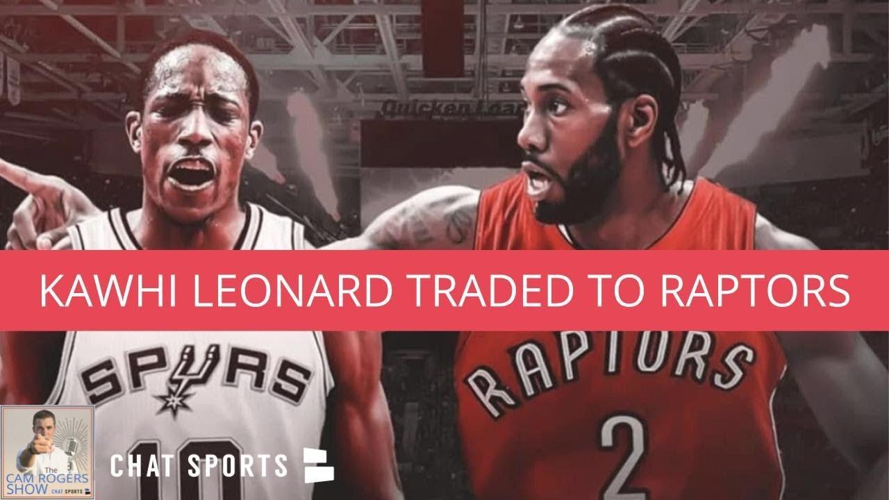 11133a96b Kawhi Leonard Traded To Toronto Raptors