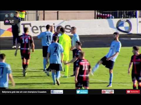 Danske Bank Premiership - Ballymena Utd Vs Crusaders - 22nd Oct 2016 - Match Day 11