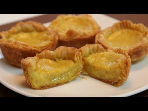 Egg Custard Tart Recipe - CookingWithAlia - Episode 349