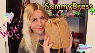 Заказ с сайта SammyDress Сумочка и Одежда+Примерка|Review|Sweetysweet Mari