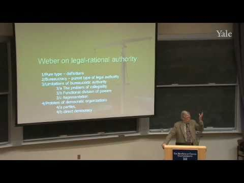 20. Weber on Legal-Rational Authority