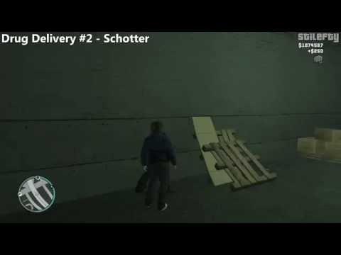 GTA 4 - Jacob's Drug Deliveries (1080p)