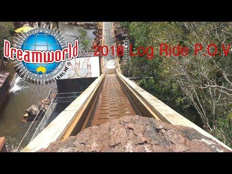 Log Ride Reopening 2018 POV - Dreamworld