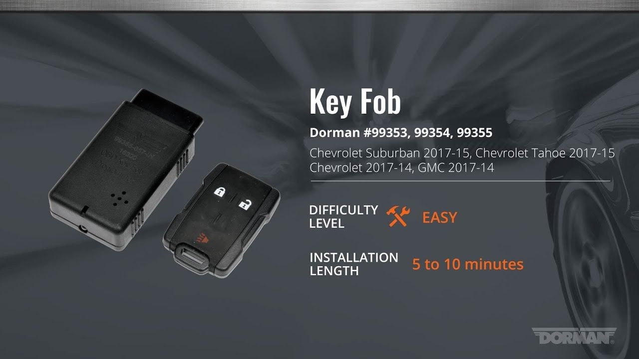 GM Key Fob Programming Video by Dorman Products