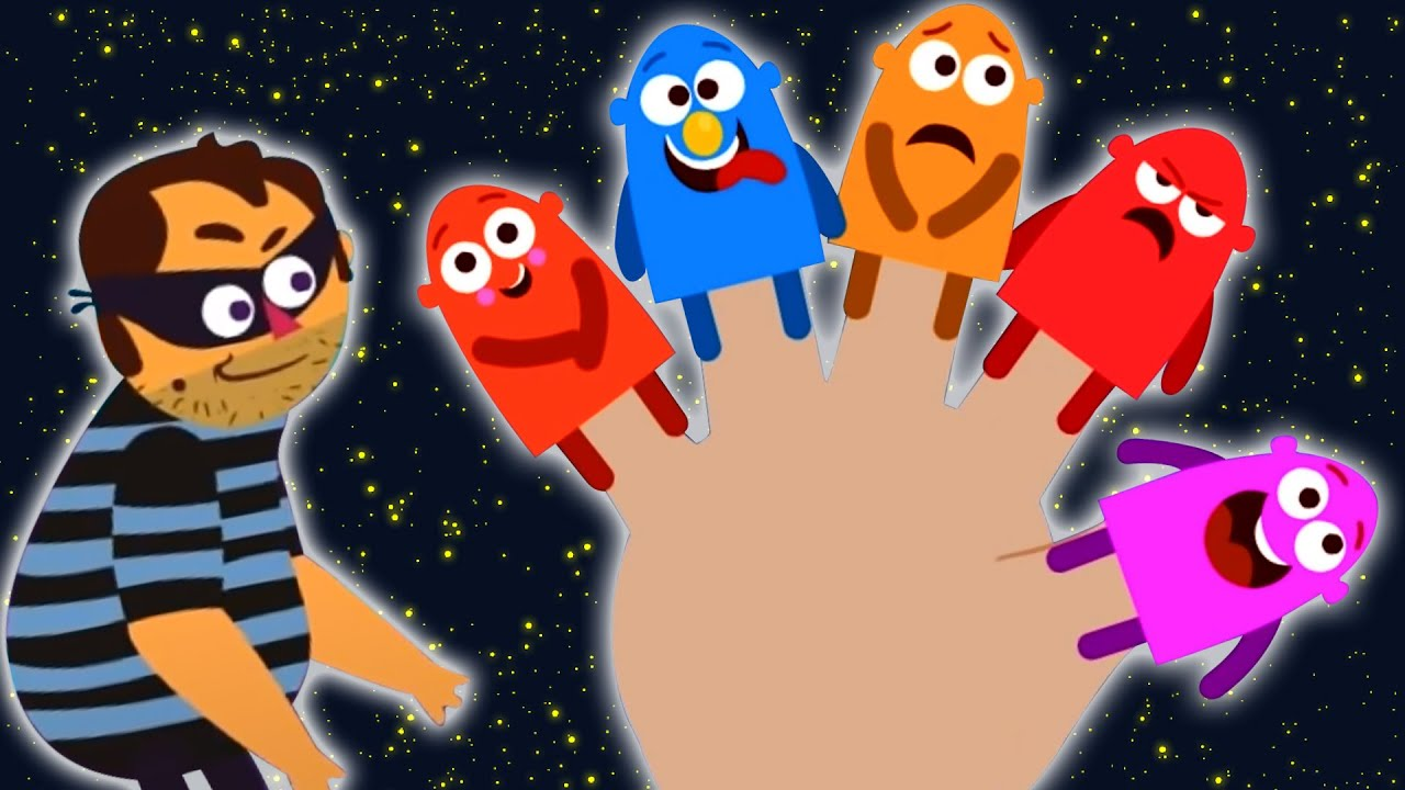 Happy Finger Song   Learn English Songs And Good Habits With Captain Discovery