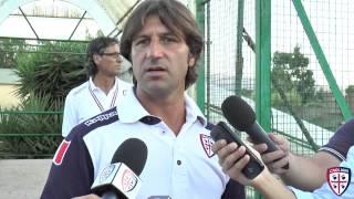 Cagliari vs Olbia: interviste postgara e highlights 28/08/15 | Cagliari Calcio