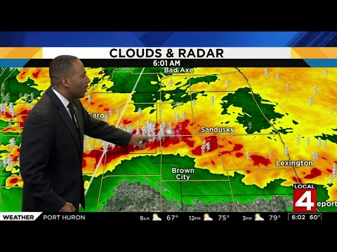 Metro Detroit Weather: Holiday Weekend Roars In With Strong, Severe Weather