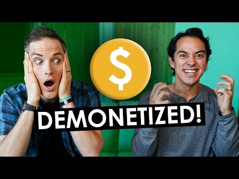 YouTube Demonetization? 3 Tips for Surviving the Adpocalypse! thumbnail