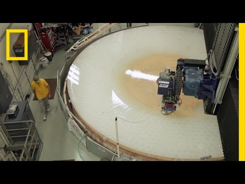 Go Inside a Telescope Mirror Factory | To a Billionth of a Meter