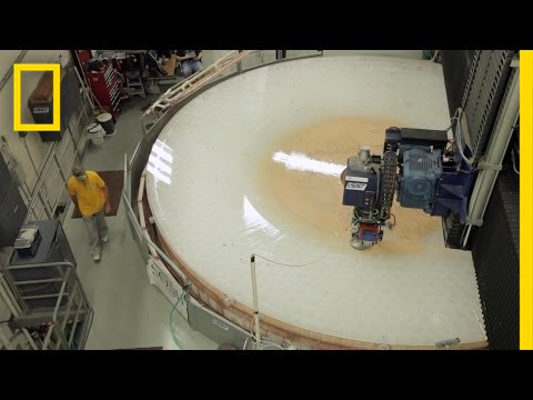 Go Inside A Telescope Mirror Factory To Billionth Of Meter