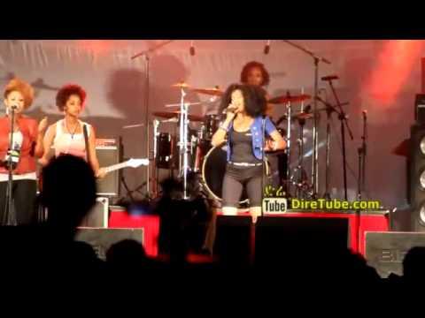 Perfroming Live at Selam Festival - All Female Rock Band DireTube Video by Janinites shukshkta video