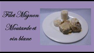 🍴 Filet Mignon de Porc à la moutarde et au vin blanc 🍴