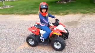 7 26 14 Polaris 50cc   Lea ATV