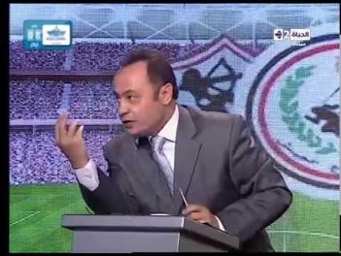 ستوديو الحياة - انفعال المستشار مرتضى منصور على طارق يحيي بسبب اغنية ' في الثالثة يمين '