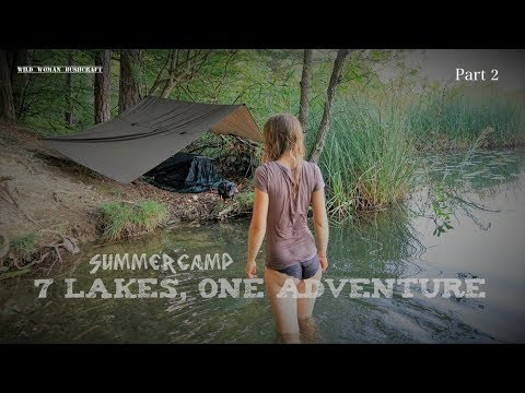 7 Lakes- 1 Adventure - Camp On The Shore - Bathing In The Lake - Tour Part 2 - Vanessa Blank - 4K
