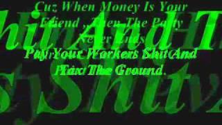 money makes the world go round and round
