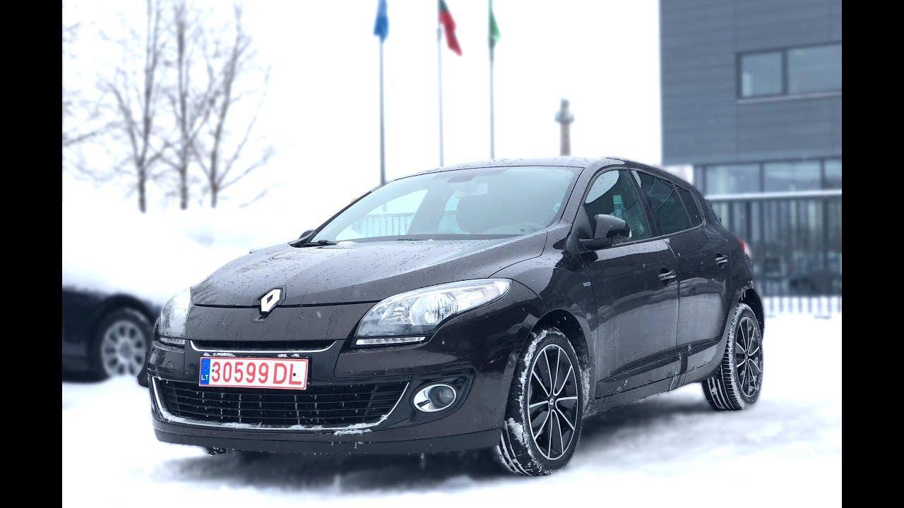 Как не купить битое авто в Литве? Подбор Renault Megane 3 1.5 dci.