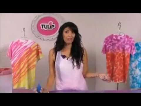 How to Do a Tie Dye Crumple Technique with Tulip One-Step Tie-Dye