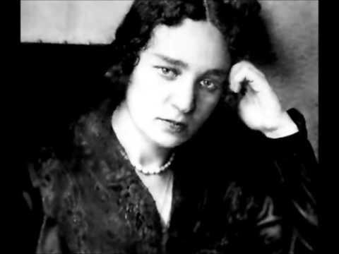 Maria Yudina plays Prokofiev Visions Fugitives, Op 22