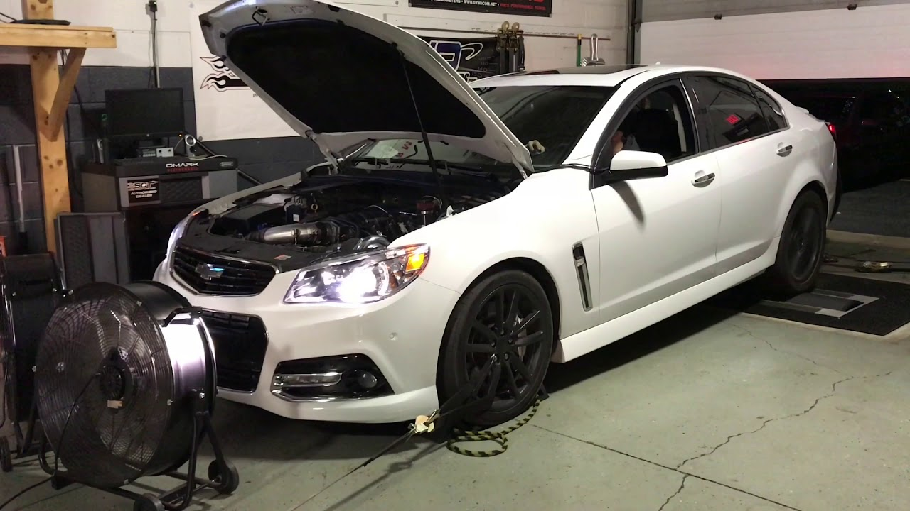 Dyno For Sale >> Chevy SS Single Turbo dyno pull - YouTube
