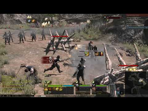 Kingdom Under Fire 2 Me and the Knight bois  - Gunslinger Gameplay |