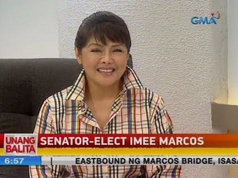 UB: Panayam kay Senator-elect Imee Marcos