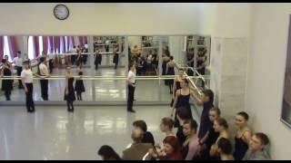 ЧГИК педагог Григорьева Ольга контрольный урок 405 БРХ народно-сценический танец