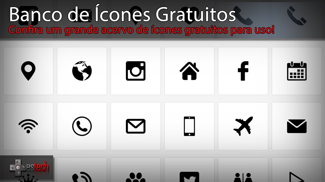 banco de 205cones gratuitos youtube