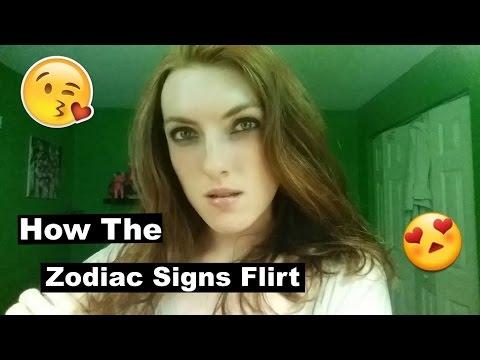 How The Zodiac Signs Flirt